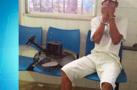 Homem é preso após roubar ventilador de cemitério e tentar vender para coveiro na Bahia