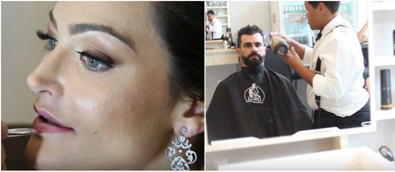 Veja o making of do casamento de Laura Keller e Jorge Sousa