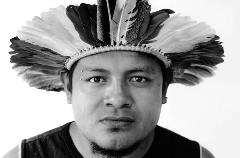 Adriano Karaí Poty, coordenador do Ceci (Centro de Educação e Cultura Indígena), nasceu na aldeia