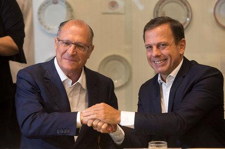 Alckmin e Doria anunciam integração das redes de Educação de São Paulo