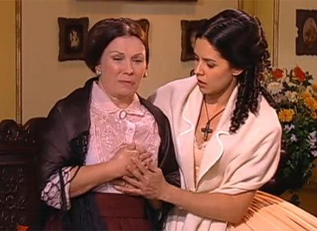 Dor: Gertrudes morre ao lado do comendador Almeida e de Isaura