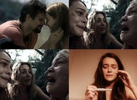 Mariana Molina escolhe as cenas preferidas de sua personagem