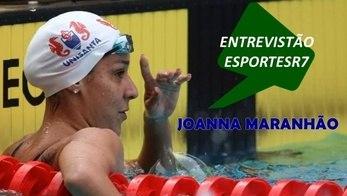 Joanna Maranhão: campeã sem perder sua própria essência (Reprodução/Facebook e Arte/R7)