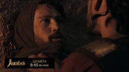No capítulo desta terça (22), Baltazar é preso no calabouço e grita por Temima (Reprodução)