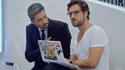 Benjamin rejeita projeto de Ricardo para construir exército de máquinas ()