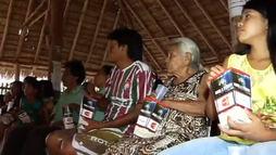 Projeto leva filme _Nada a Perder_ a indígenas e a quem não tem acesso a cinema ()
