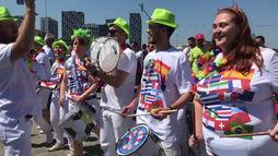 Moscou, sambou: russos mostram amor pelo Brasil  por meio da música ()