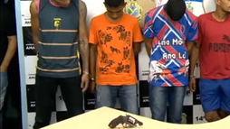 Seis pessoas são presas em Manaus (AM) por impedir vacinação contra o sarampo ()