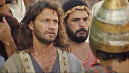 Nabucodonosor, rei da Babilônia, poupa a vida do profeta Jeremias (Reprodução)