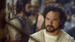 Beltessazar pede tempo a Nabucodonosor para desvendar seu pesadelo (Reprodução)