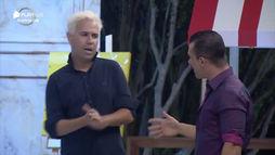 Em festa, Jorge questiona Viny sobre Bifão: 'Tá rolando um clima?' (Reprodução)