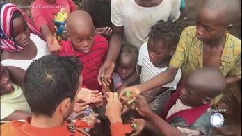 Exclusivo: brasileiros falam da ajuda a vítimas do ciclone na África (Reprodução)