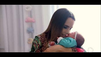 Exclusivo: Faro mostra a filha de Thaeme pela primeira vez na TV (Reprodução)