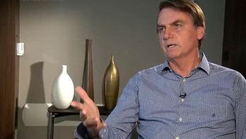 __Bolsonaro concede entrevista exclusiva ao _Jornal da Record___ (Reprodução)
