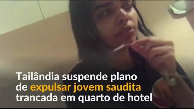 Tailândia suspende plano de expulsar saudita trancada em hotel