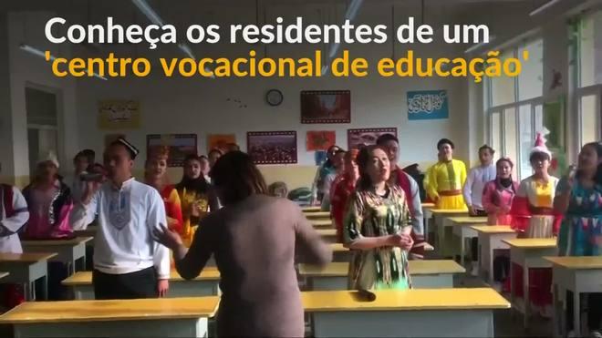Um olhar sobre os 'centros vocacionais de educação' da China