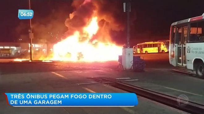 Três incêndios são registrados no RJ durante final de semana