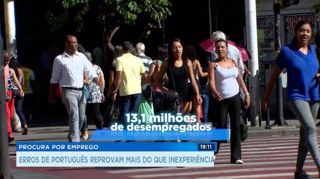 Erros de português reprovam profissionais na procura por empregos