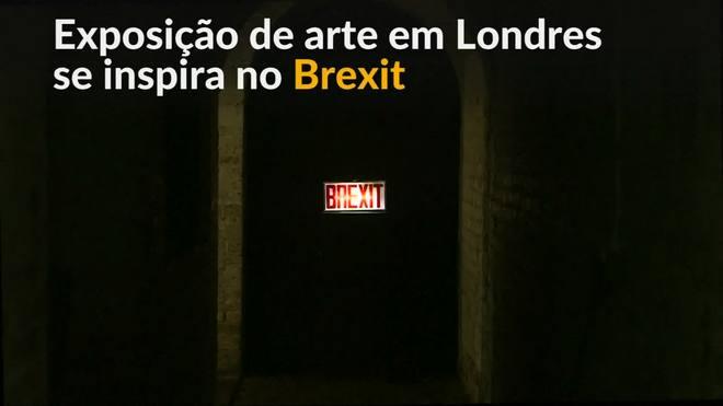 Arte imita caos do Brexit com exposição em Londres
