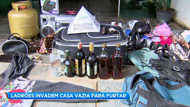 Suspeitos de invadir casa são presos em Matozinhos (MG)