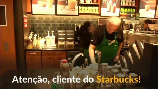 Cafeteria abre filial com funcionários idosos no México