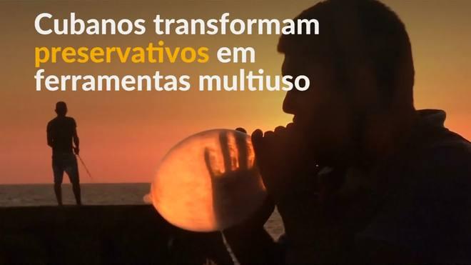 Em Cuba, preservativos são usados para fermentação de vinhos