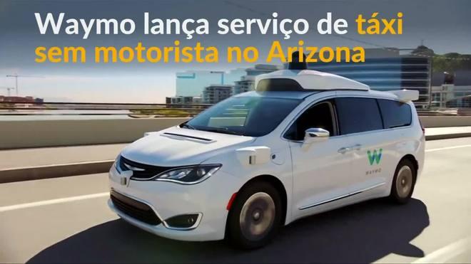 Táxis autônomos chegam às ruas no Arizona, nos EUA
