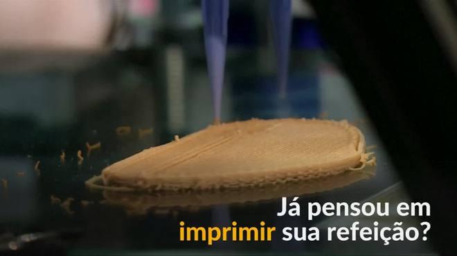 'Bife' vegano 3D impressiona em feira de tecnologia em Barcelona