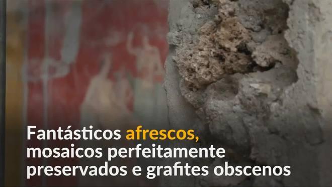 Pompeia oferece novos indícios de vida antes da calamidade