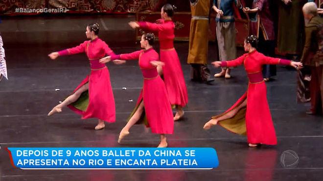 Maior companhia de ballet chinês volta a se apresentar no Rio de Janeiro