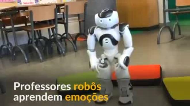 Professores robôs aprendem a ler emoção de alunos