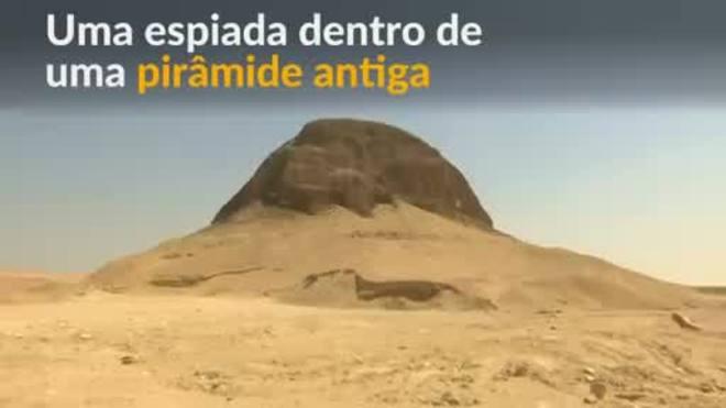Pirâmide de 4 mil anos é aberta ao público no Egito pela primeira vez
