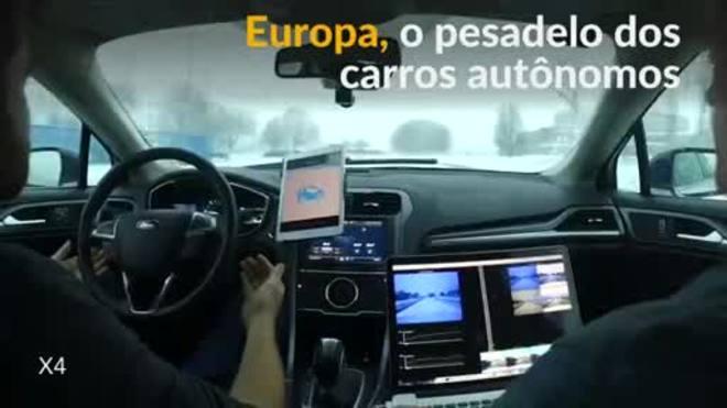 Estradas europeias, o maior teste para carros autônomos