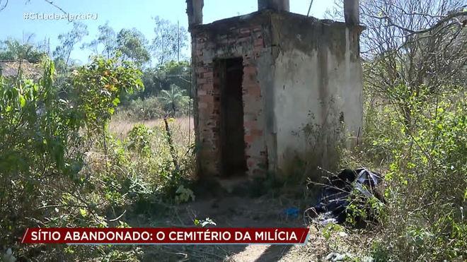Polícia investiga se milícia usava sítio como cemitério clandestino no RJ