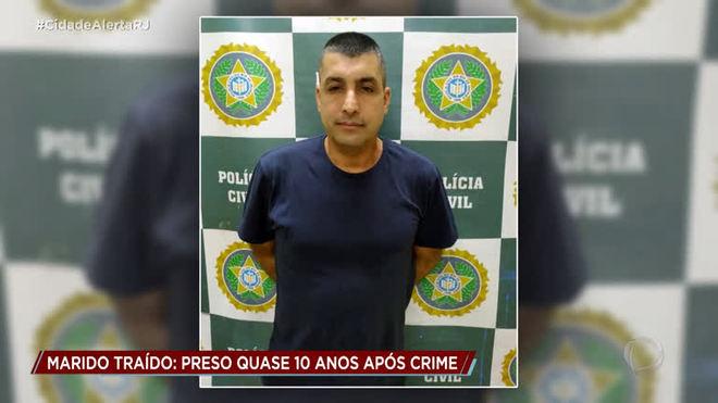 Após dez anos foragido, homem é preso por matar amante da esposa na Baixada Fluminense