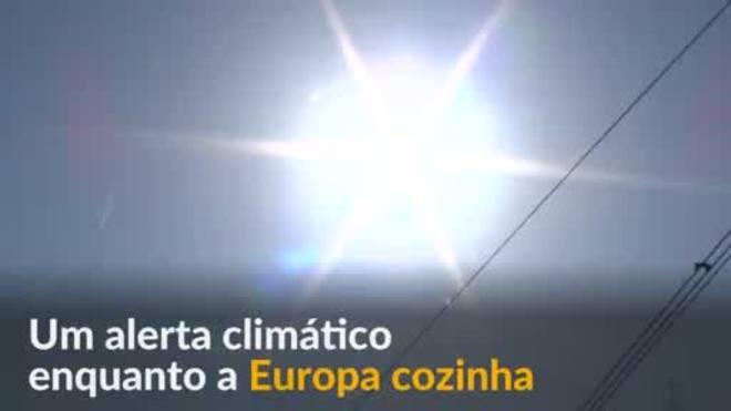 ONU alerta para aumento de onda de calor na Europa