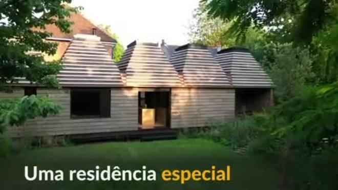Casa sustentável de cortiça concorre a prêmio de arquitetura