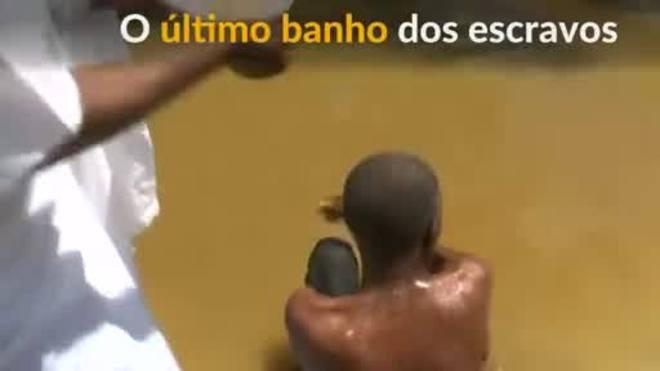 O rio do último banho dos escravizados na Costa do Marfim