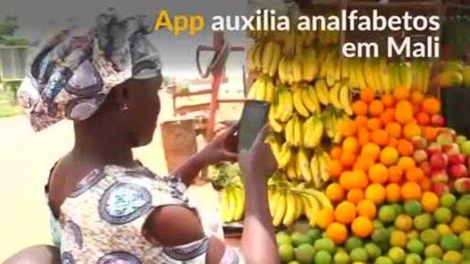 Aplicativo vocal auxilia analfabetos em Mali a fazer compras