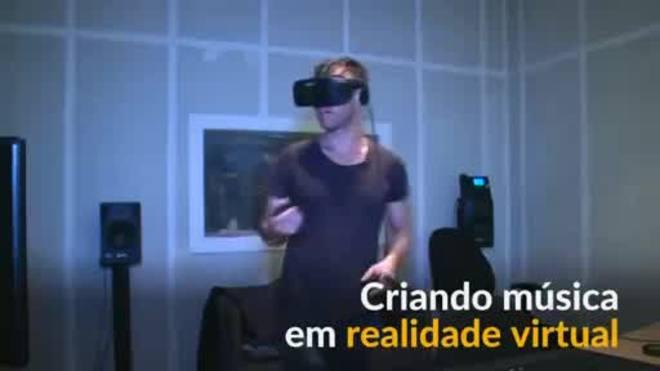Batidas virtuais: criando música com realidade virtual