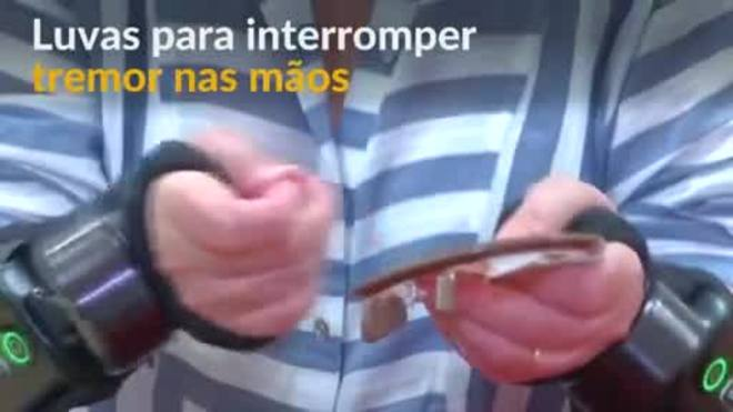 Luvas especiais prometem interromper tremores nas mãos