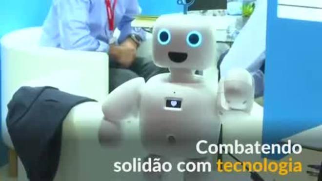 Um robô acompanhante projetado para combater a solidão