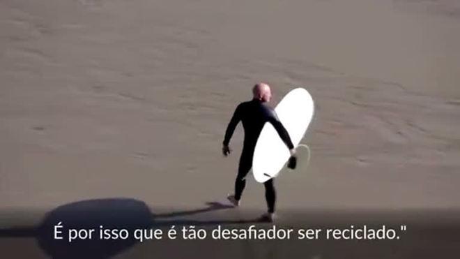 Surfar ficou mais sustentável com primeiro traje reciclável do mundo