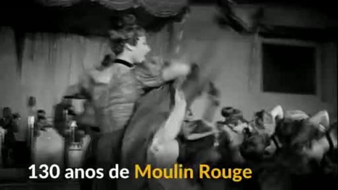 Cabaré Moulin Rouge celebra 130º aniversário com belo espetáculo