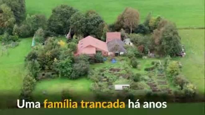 Polícia holandesa encontra família trancada há anos em fazenda