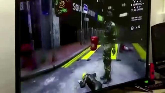 Em realidade virtual, jogadores se unem a protestos em Hong Kong