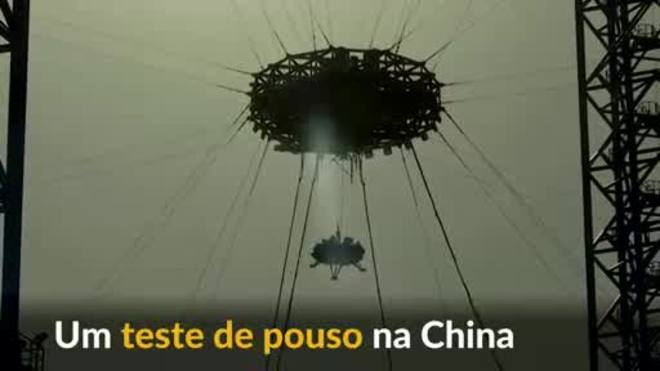 Teste de pouso aproxima China de missão espacial para Marte