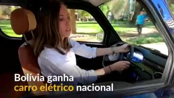 Bolívia ganha carro elétrico nacional para conter poluição do ar