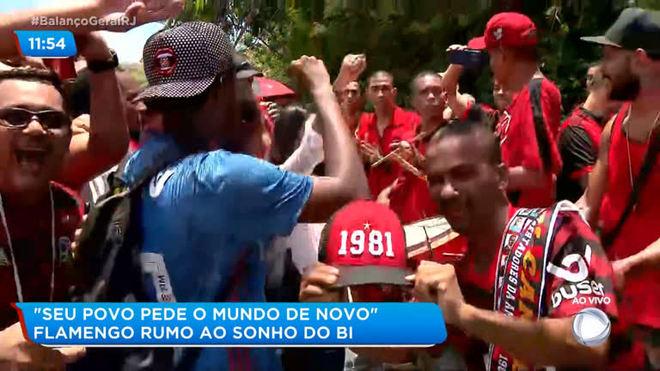 Torcida do Flamengo sonha com bicampeonato Mundial