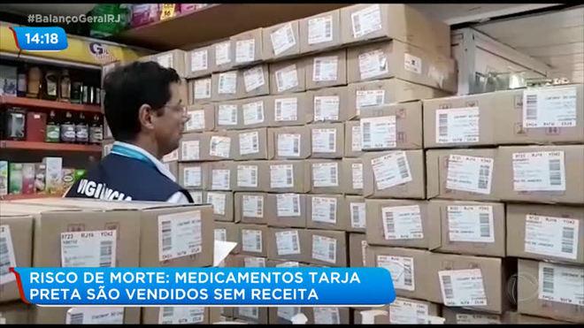 Risco de morte: medicamentos tarja preta são vendidos sem receita
